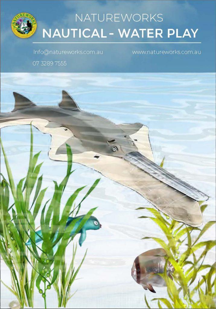 Natureworks Nautical Water play creature catalogue