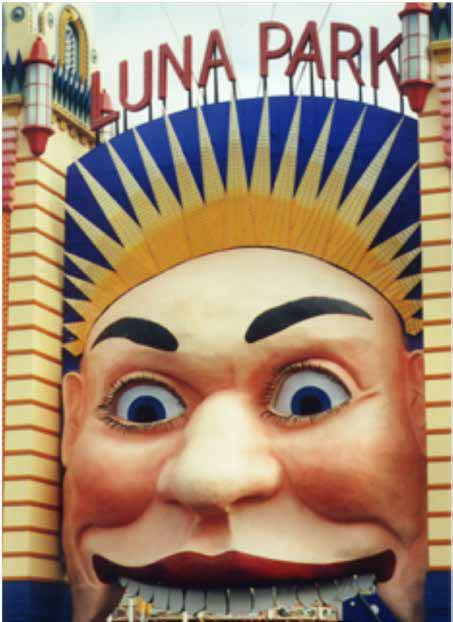 Luna Park's new face
