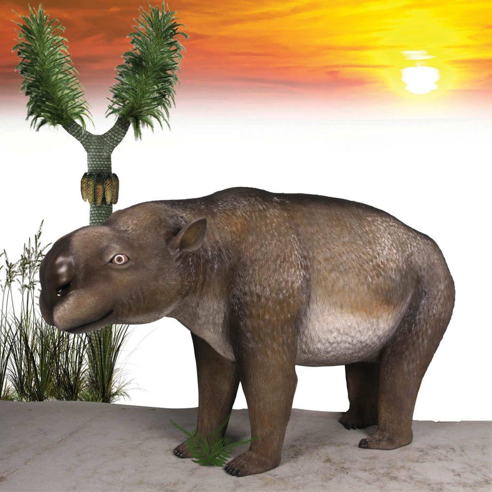 Diprotodon Optatum sculpture
