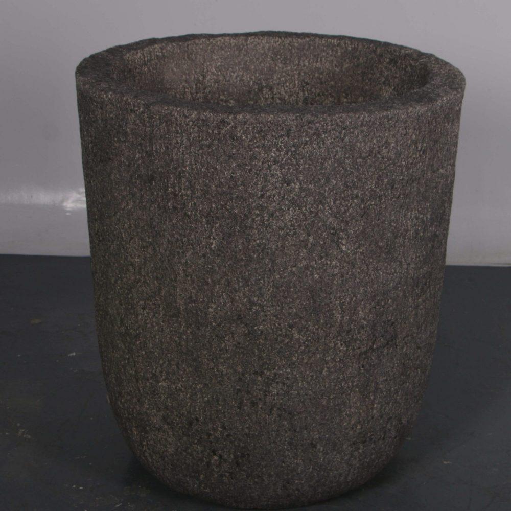 StonePlanter Whitestonetexturefinish Image