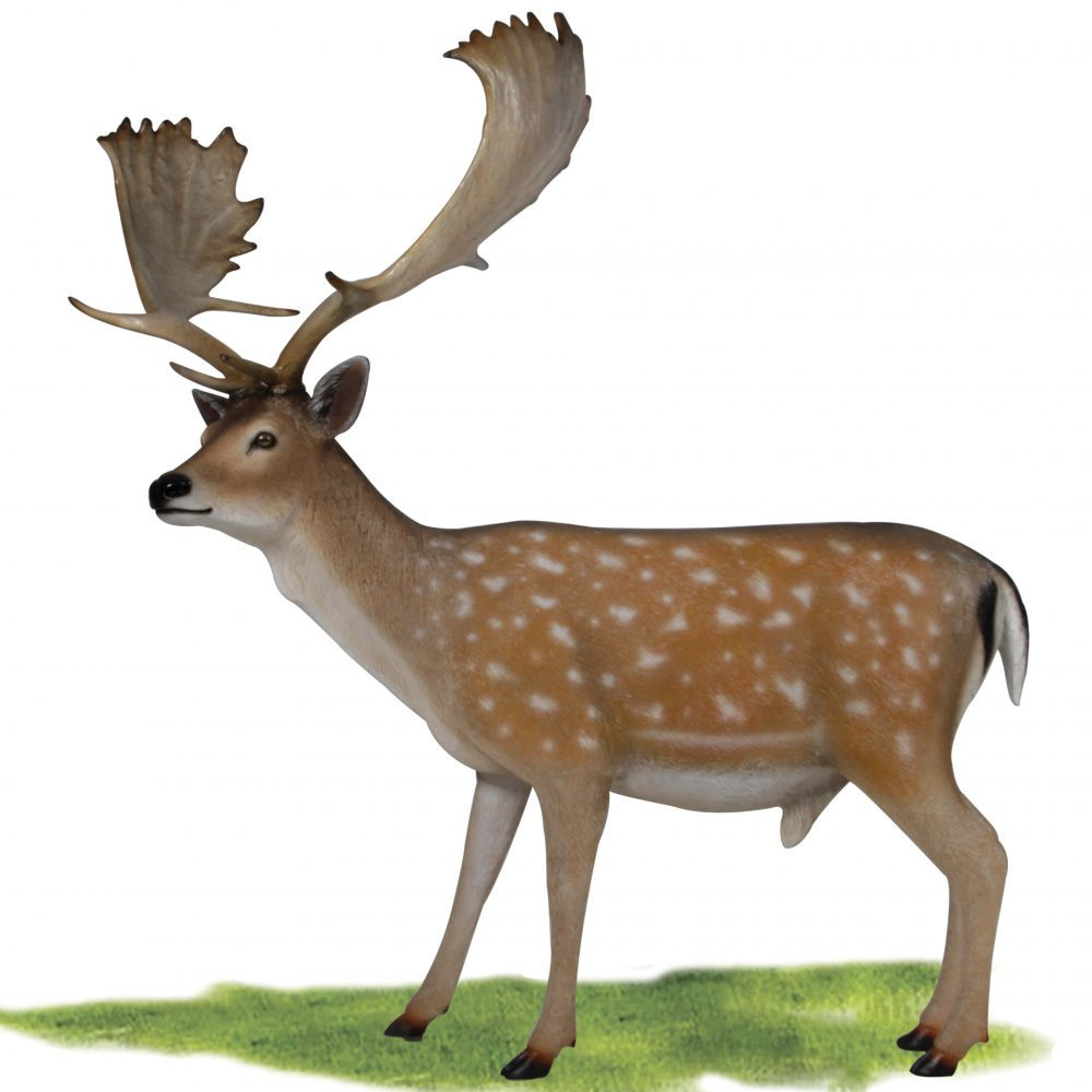 Deer statue life-size for sale