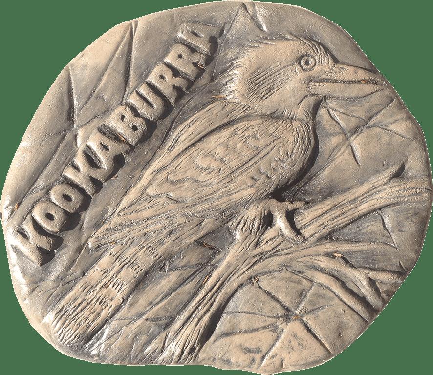 Kookaburra Stepping Stone