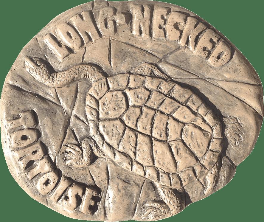 Long Necked Tortoise Stepping Stone