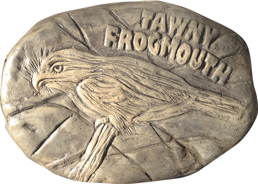 Tawny Frogmouth stepping stone