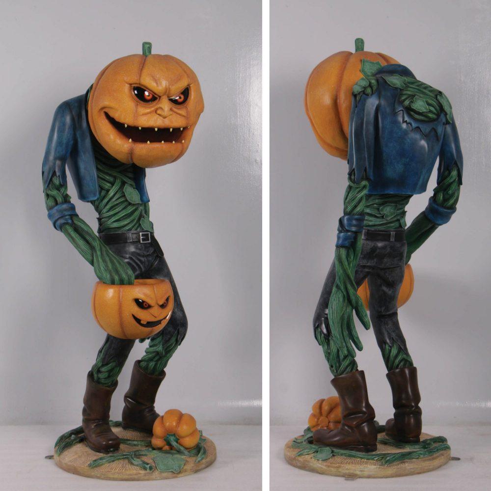 ScaryPumpkinManwithCandyHolder– photo