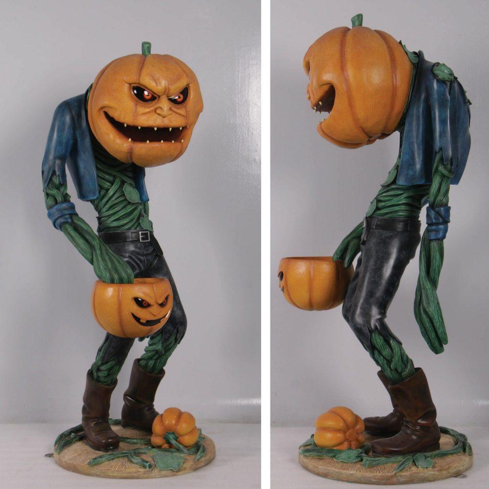 ScaryPumpkinManwithCandyHolder– propforsale