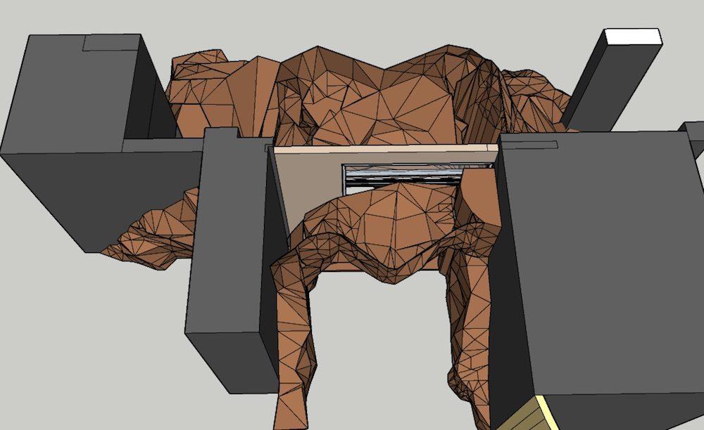 CAD cave concept