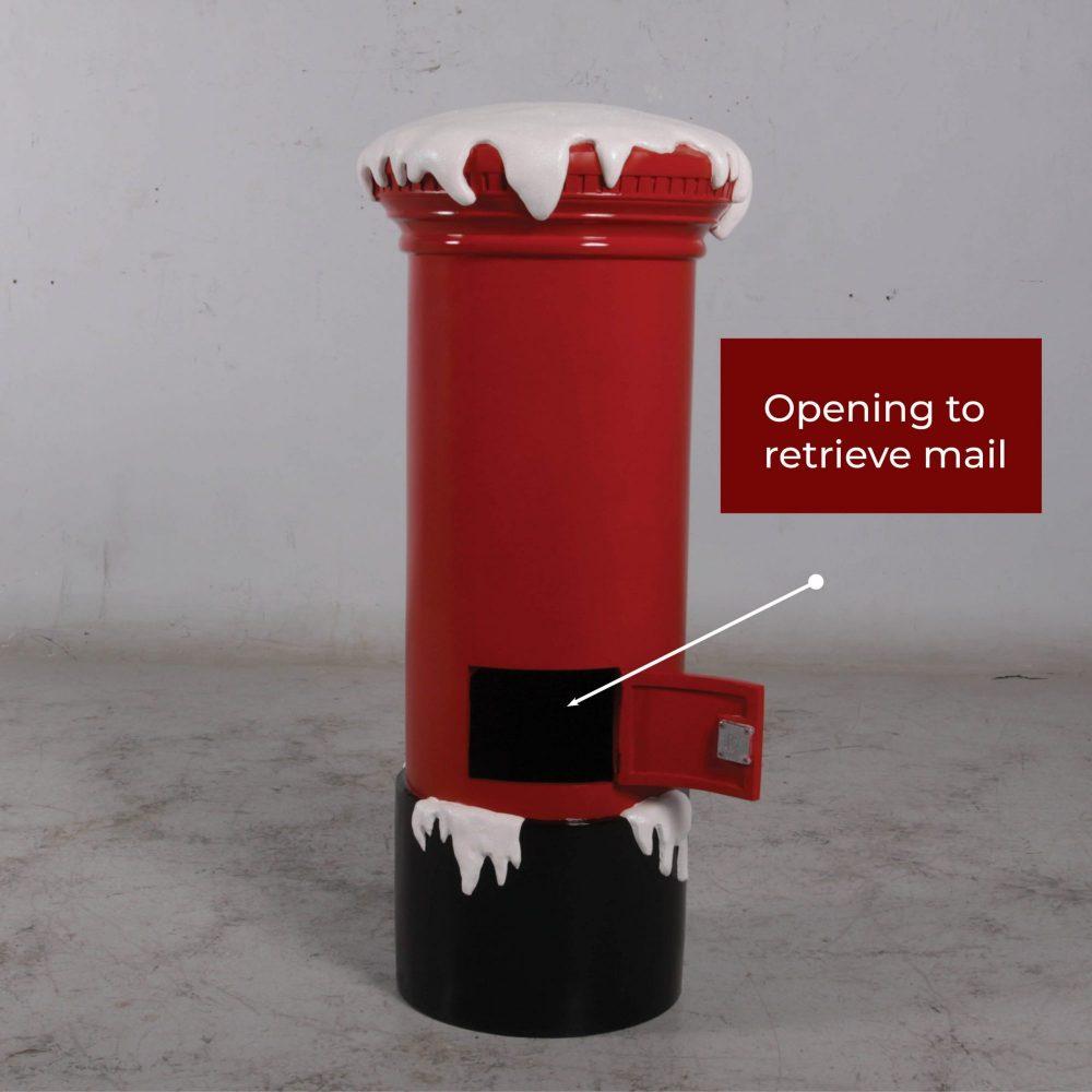 Christmas - Santas Mail box small Rear View - 100cm