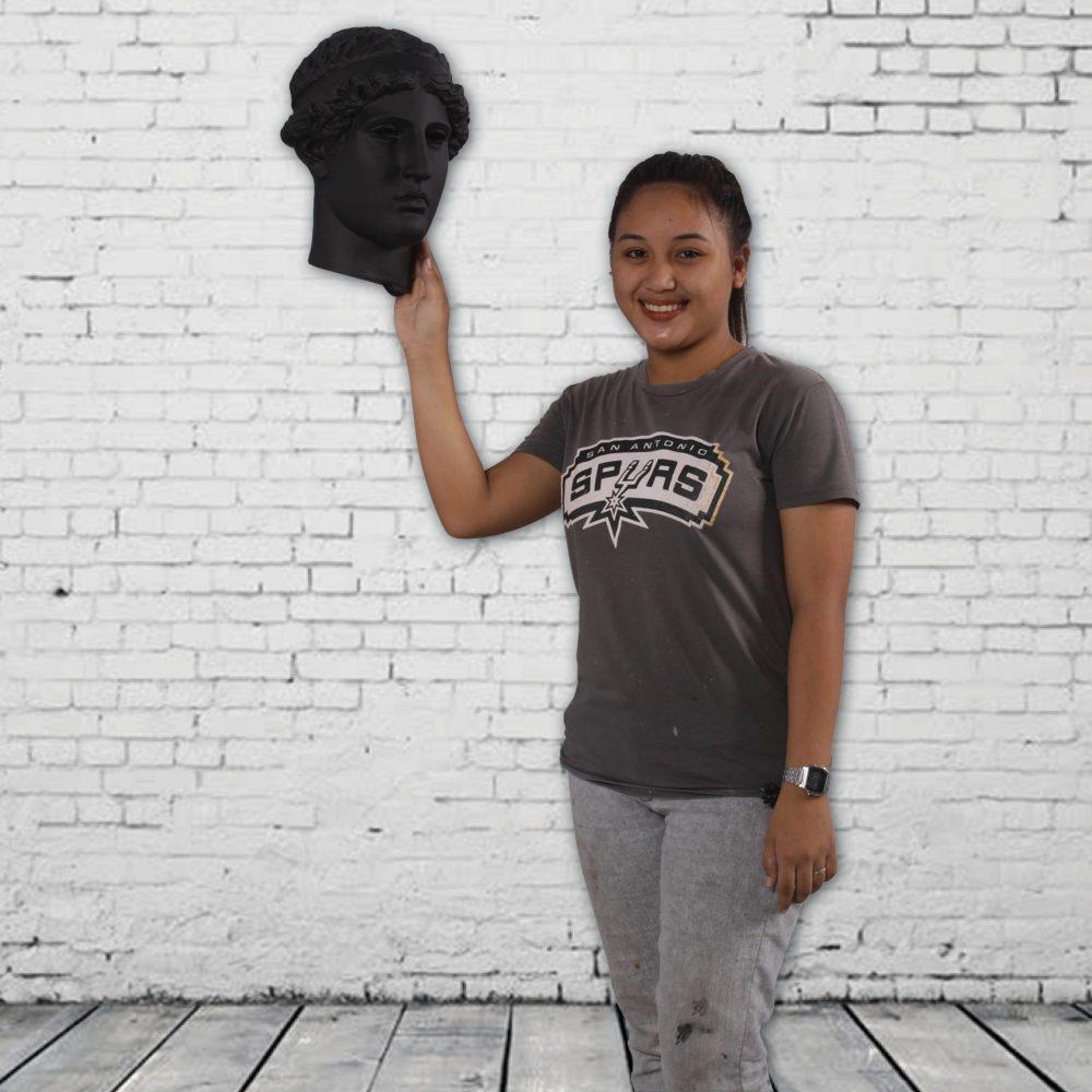 Greek Goddess head replica - Stylish wall décor