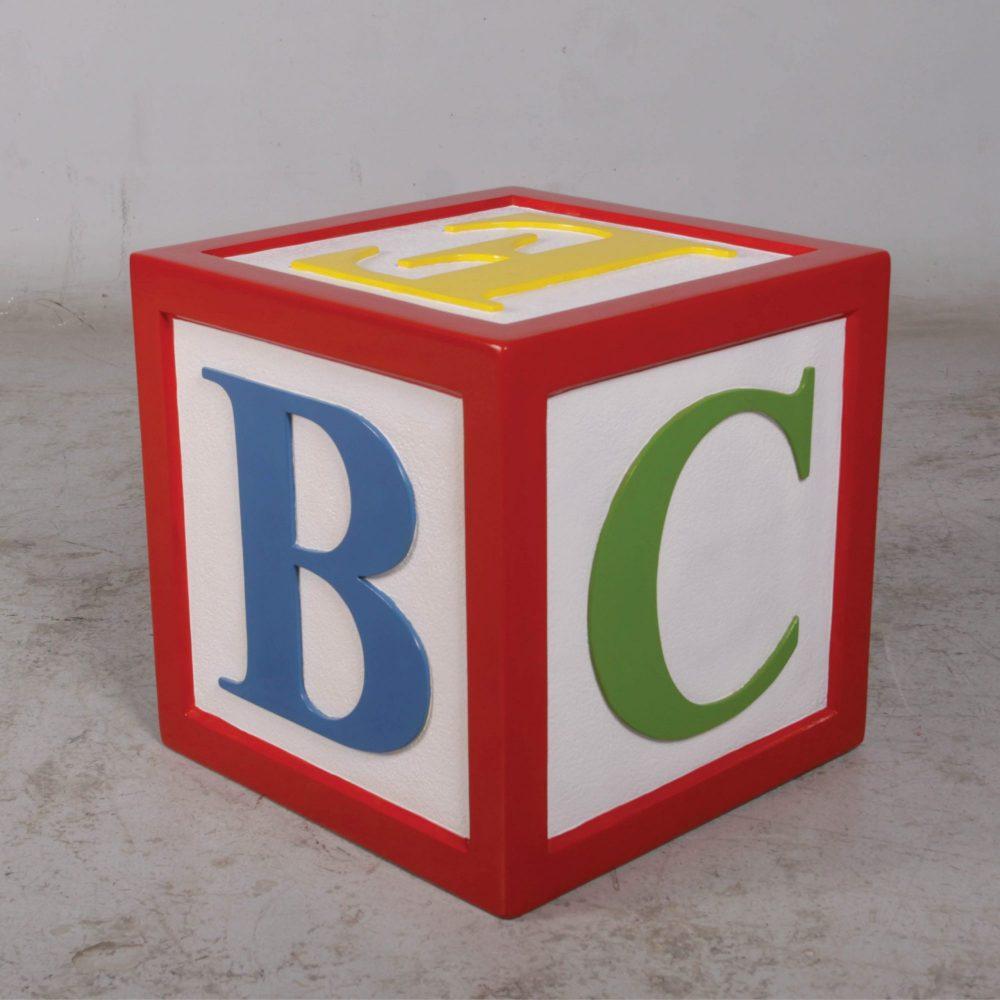 Letter Block - with Alphabet letters- 45 x 45 x 26cm