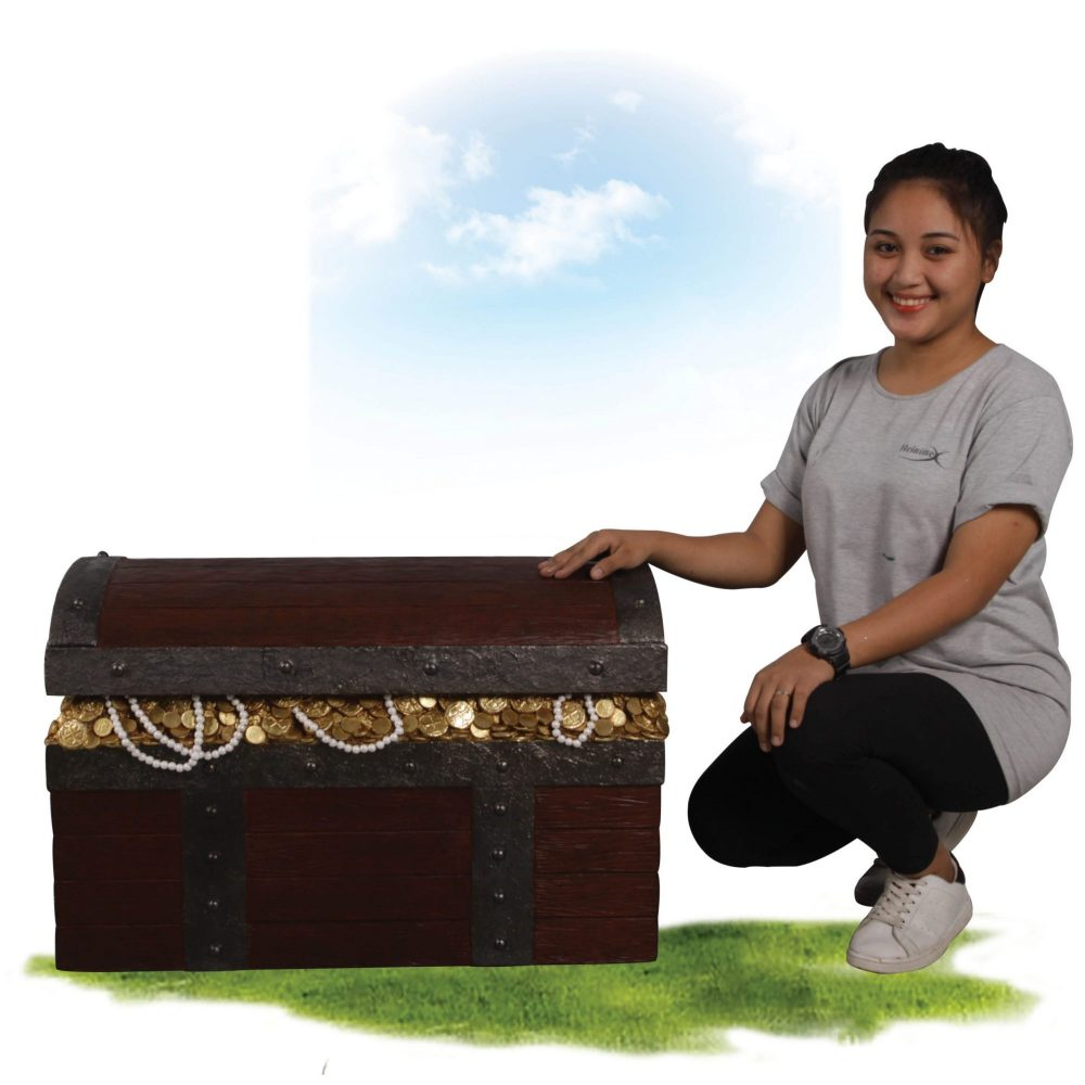 Pirate War Treasure Chest- with girl