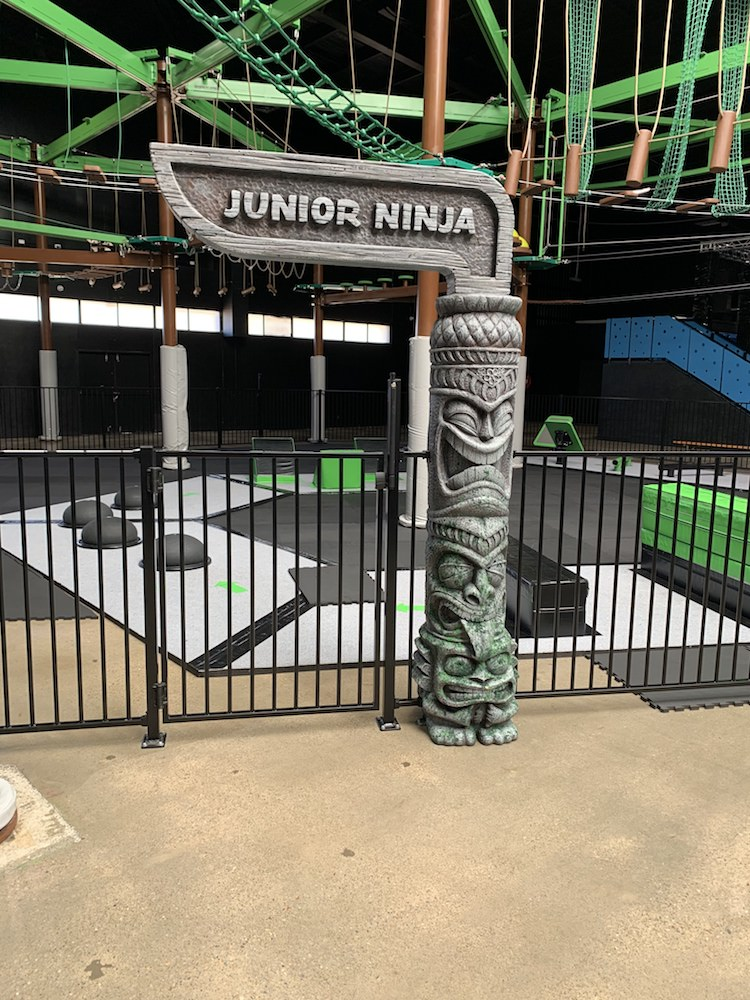 Junior Ninja Signage