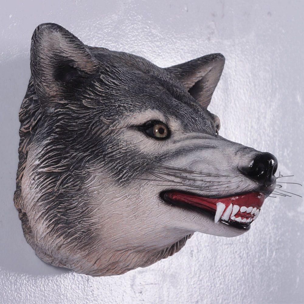 Wolf Head Wall Décor