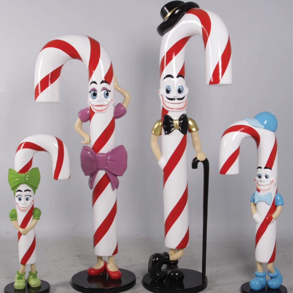 Candy Cane girl–Lizzy–Christmas Prop with Green bow and shoes