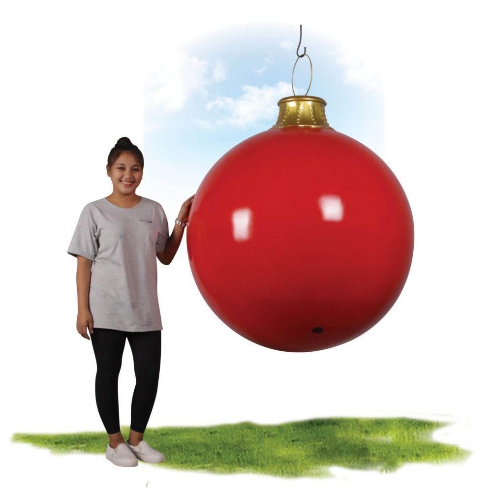 Christmas Ball - 1.1m Diameter -with girl