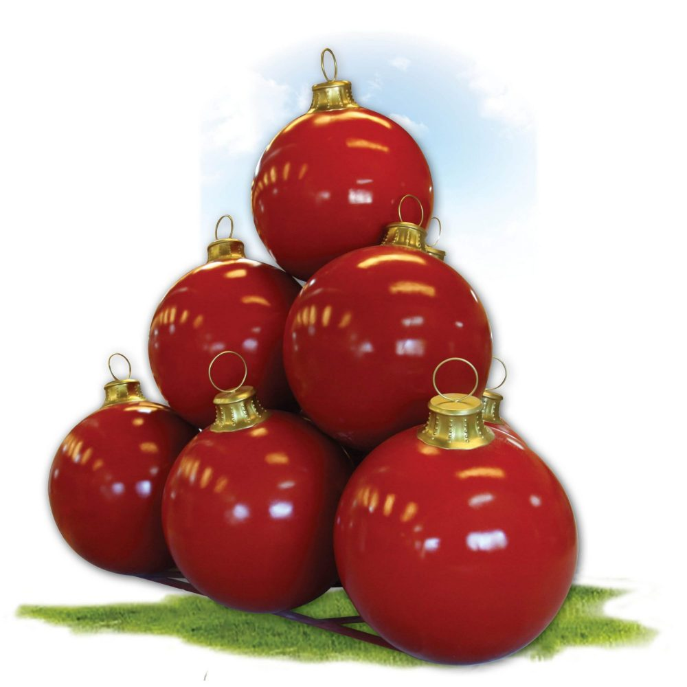 Christmas Ball - 1.1m Diameter -with set of 10_180095