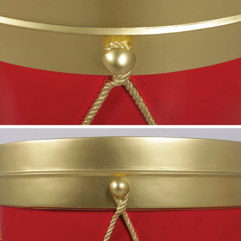 Awesome giant Christmas drum prop for themed events & displays