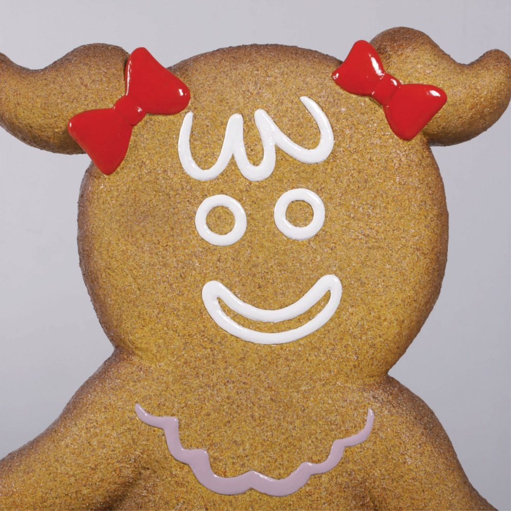 Awesome giant Christmas Gingerbread girl – part of a set for themed events & displays