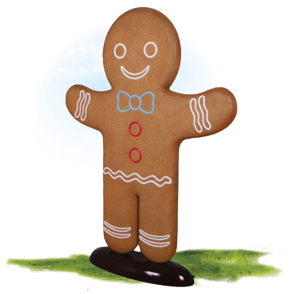 Gingerbread Man – Christmas Prop. Part of a set for themed events & displays