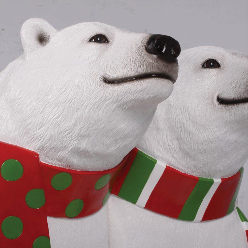 Christmas_Polar Bears Bench