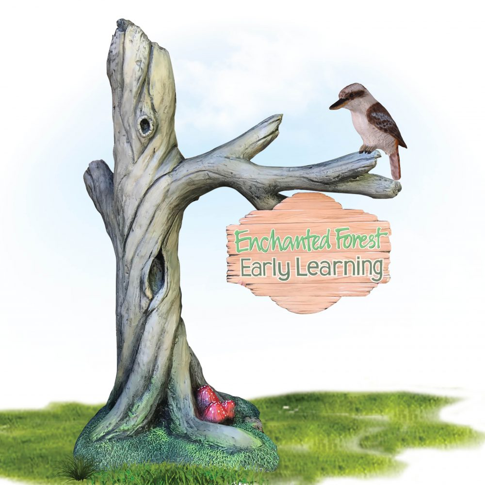 Enchanted forest tree – on a base plate