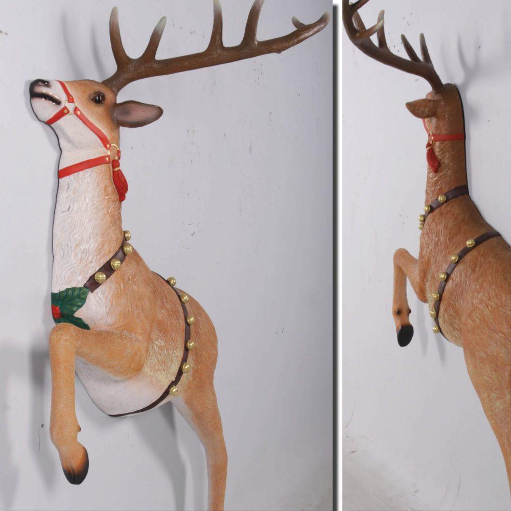 Reindeer Wall Decor - Christmas Props