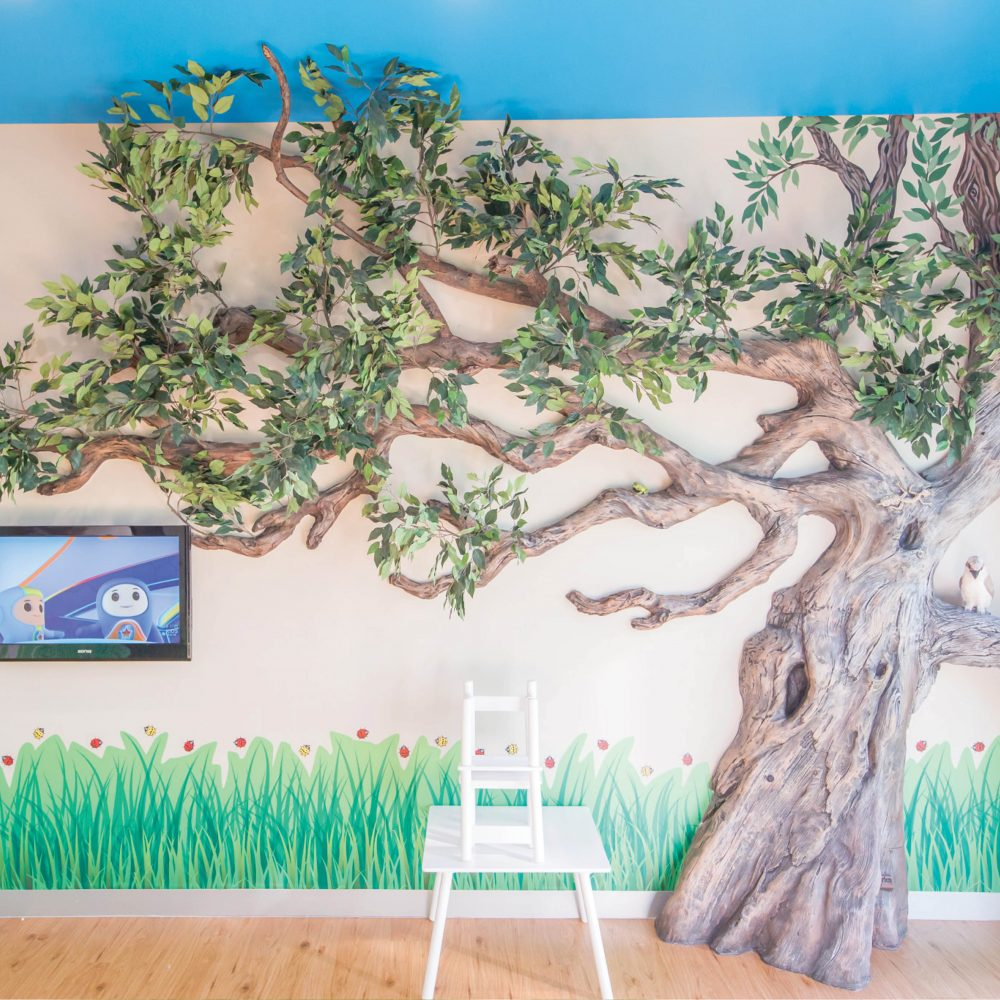Architectural windswept tree – wall mount Ideal decoration to help bring the outside