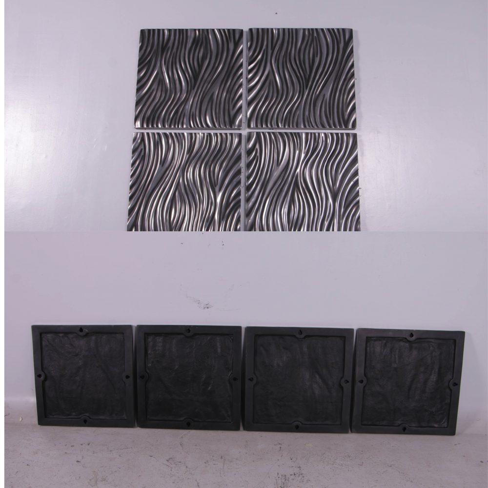 Decorative Alon wall panel - set of 4