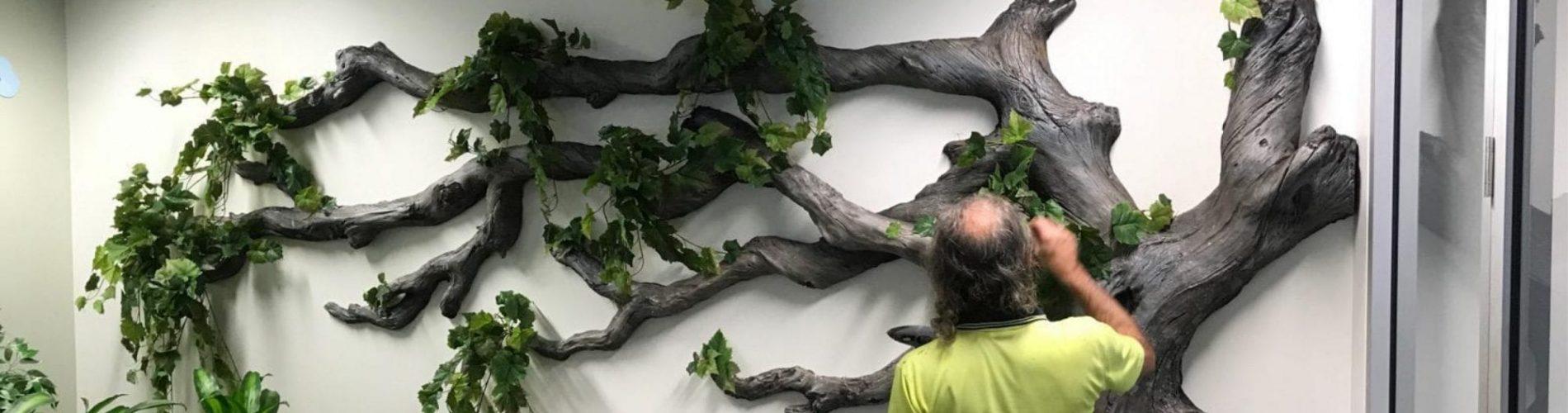 Repairing a fibreglass sculpture